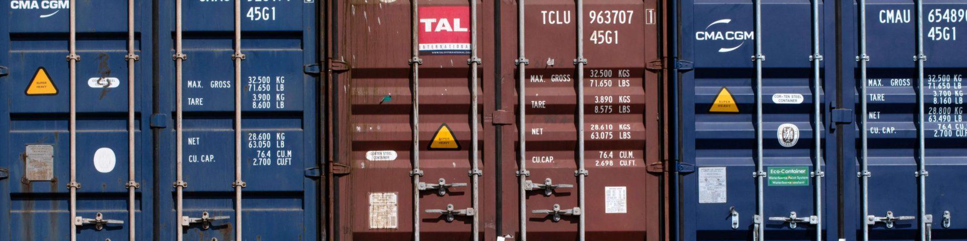 Shipping Cargo Crates
