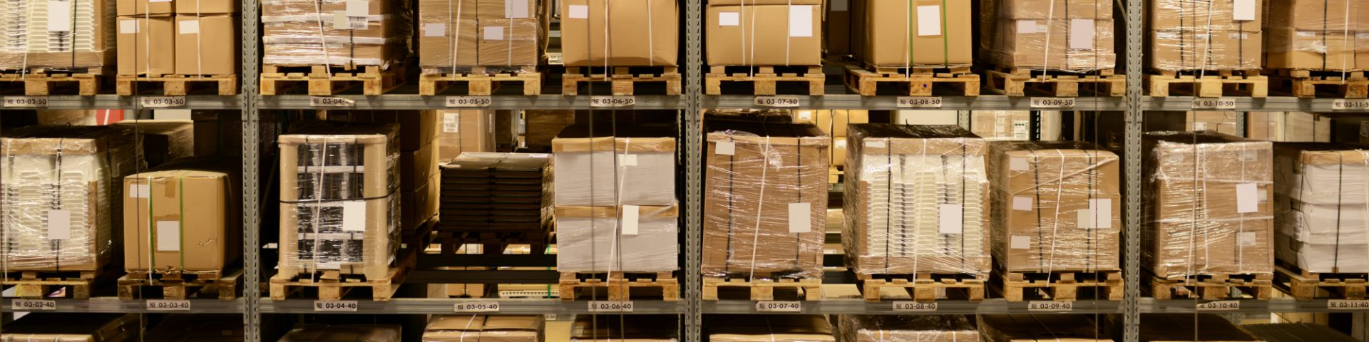 Warehouse with Excess Inventory